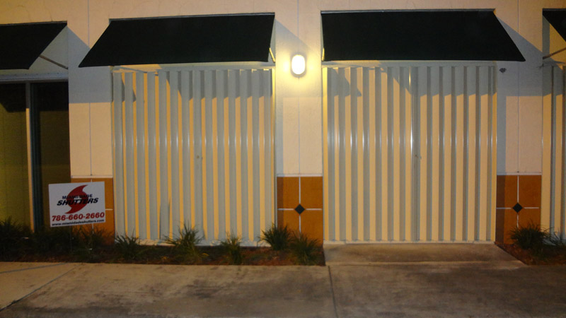 Accordion Shutters 2