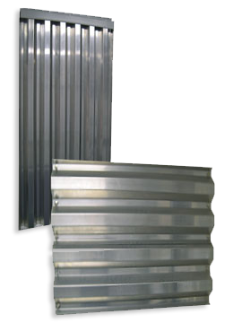 Galvanized Panels Miami Dade Shutters